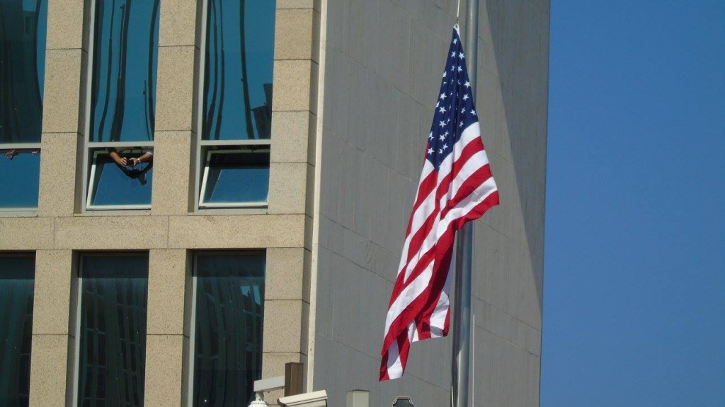 flag usa cuba